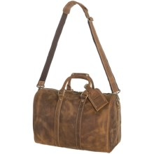 Wisecracker Jr. Cabin Bag - Leather in Brown - Closeouts