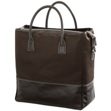 Wisecracker Nomad Tote Bag in Brown - Closeouts