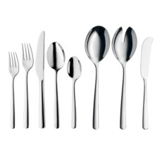 WMF 18/10 Stainless Steel Manaos Flatware Set - 45-Piece in Stainless Steel - Closeouts