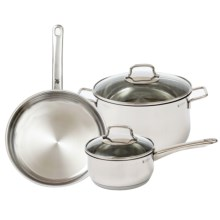 WMF 5-Piece Collier 18/10 Stainless Steel Cookware Set - 5-Piece in See Photo - Closeouts