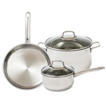WMF 5-Piece Collier 18/10 Stainless Steel Cookware Set - 5-Piece in Stainless - Closeouts