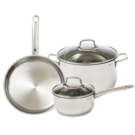 WMF 5-Piece Collier 18/10 Stainless Steel Cookware Set - 5-Piece in Stainless