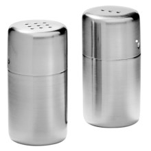WMF Bel Gusto Salt and Pepper Set in Stainless Steel - Closeouts