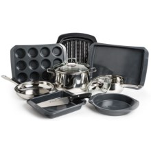 WMF Cookware & Kaiser Bakeware Kitchen Starter Set - 11-Piece in See Detail - Overstock