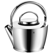 WMF Cromargan® 18/10 Stainless Steel Tea Kettle with Strainer in Stainless - Overstock