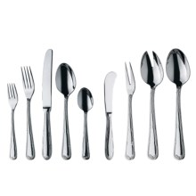 WMF Crossband Flatware Set - Cromargan®18/10 Stainless Steel, 44-Piece in Stainless - Overstock