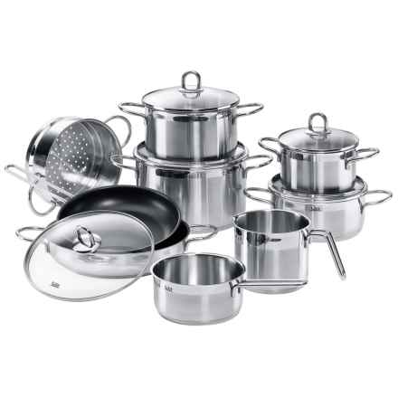 WMF Diamant Cookware Set - 14-Piece in Stainless Steel - Closeouts