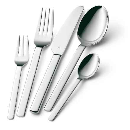 WMF Dune Flatware Set - 20-Piece in Stainless Steel - Closeouts
