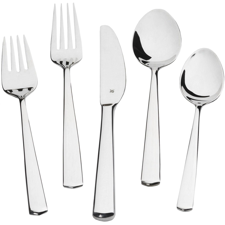 Wmf stainless steel flatware set 20 piece save 50 - Wmf silverware ...