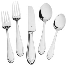 WMF Flatware Set - 20-Piece, 8/10 Stainless Steel in Florence - Closeouts
