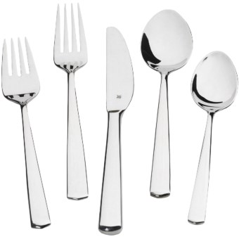 WMF Flatware Set - 20-Piece, 8/10 Stainless Steel in Manaos