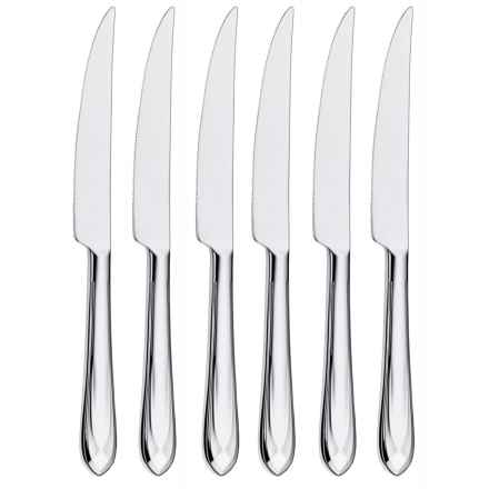WMF Juwel Steak Knives - Stainless Steel, Set of 6 in See Photo - Closeouts