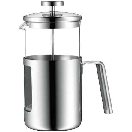 WMF Kult French Press - Stainless Steel, 32 fl.oz. in Stainless Steel - Closeouts