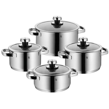 Wmf Livo Stainless Steel Cookware Set 8 Piece