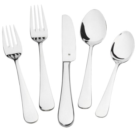 WMF Manaos Stainless Steel Flatware Set - 20-Piece in Signum