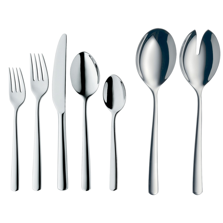 Wmf manaos stainless steel flatware set 44 piece save 77 - Wmf silverware ...