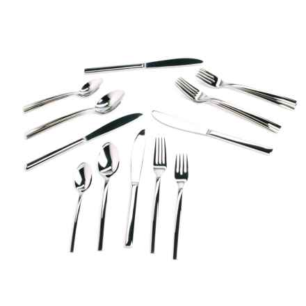 WMF Miami Flatware Set - Cromargan® 18/10 Stainless Steel, 20-Piece in Stainless Steel - Overstock