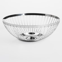 WMF ProfiSelect Concept Wire Bread Basket/Bowl - Cromargan® 18/10 Stainless Steel in Stainless - Overstock