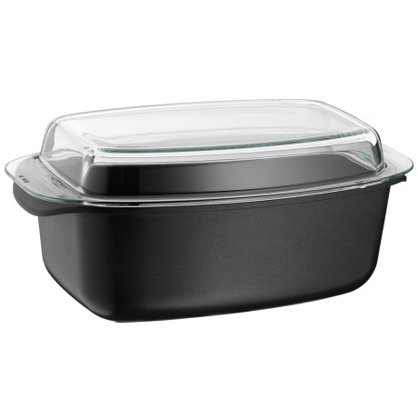 WMF ProfiSelect Covered Roasting Pan with Lid 15x9