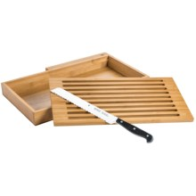 WMF Spitzenklasse Set - Bread Knife, Board and Tray in See Photo - Closeouts