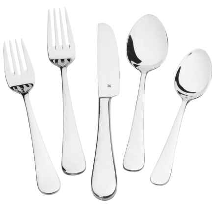 WMF Stainless Steel Flatware Set - 20-Piece in Signum - Overstock