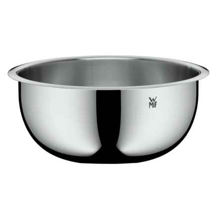"WMF Stainless Steel Mixing Bowl - 4.3x8.7"" in Stainless Steel - Overstock"