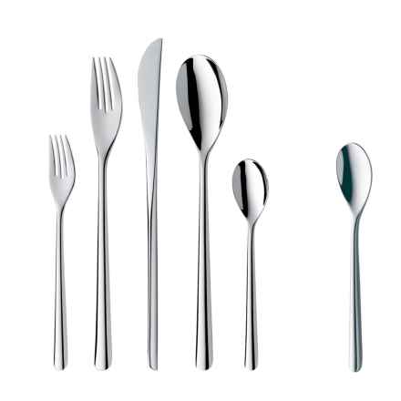 WMF Taika Flatware Set - 48-Piece in Stainless Steel - Closeouts
