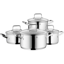 WMF Trend 18/10 Stainless Steel Cookware Set - 8-Piece in See Photo - Closeouts