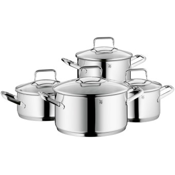 WMF Trend 18/10 Stainless Steel Cookware Set - 8-Piece in See Photo