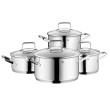 WMF Trend 18/10 Stainless Steel Cookware Set - 8-Piece in Stainless - Closeouts