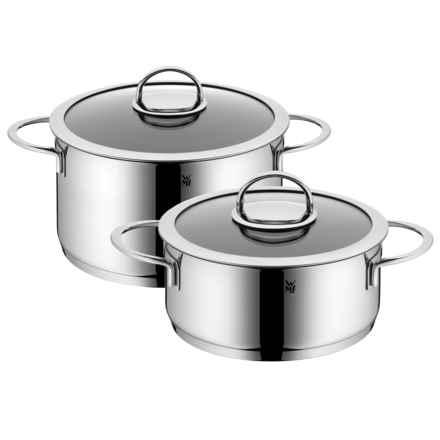WMF Vignola Nonstick Cookware Set - 4-Piece in Stainless Steel - Overstock