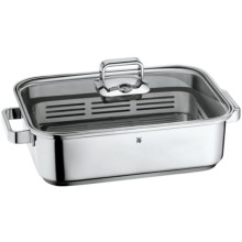 WMF Vitalis Stovetop Steamer Pan - Stainless Steel, 6.8 qt. in See Photo - Overstock