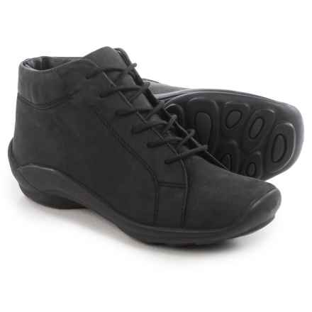 Wolky Abby Ankle Boots - Leather (For Women) in Black - Closeouts