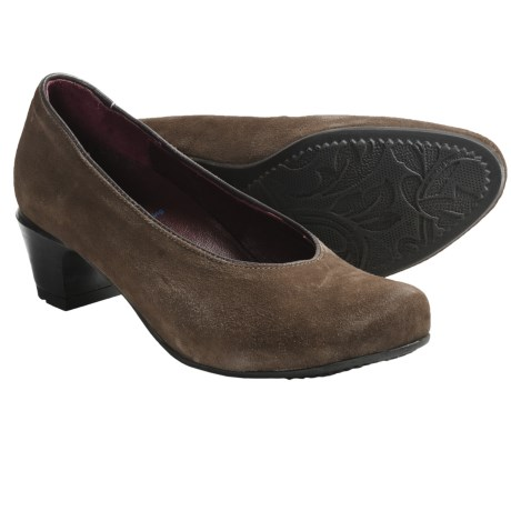 Wolky Adana Pumps (For Women) in Taupe Goat