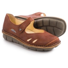 Wolky Bering Mary Jane Shoes - Leather (For Women) in Brick - Closeouts