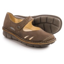 Wolky Bering Mary Jane Shoes - Leather (For Women) in Taupe - Closeouts