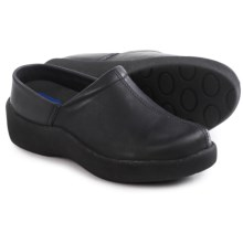 Wolky Blossom Clogs - Leather (For Women) in Black - Closeouts