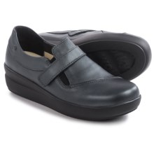 Wolky Cassini Shoes - Nubuck (For Women) in Black Metallic - Closeouts
