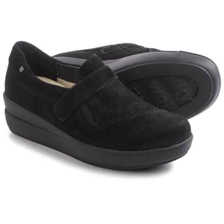 Wolky Cassini Shoes - Nubuck (For Women) in Black Nubuck - Closeouts