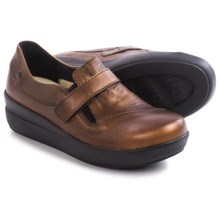 Wolky Cassini Shoes - Nubuck (For Women) in Copper Metallic - Closeouts