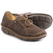 Wolky Celtic Leather Shoes (For Women) in Taupe - Closeouts