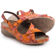 Wolky Churley Sling-Back Sandals (For Women) in Orange - Closeouts