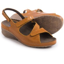 Wolky Churley Sling-Back Sandals (For Women) in Papaya - Closeouts