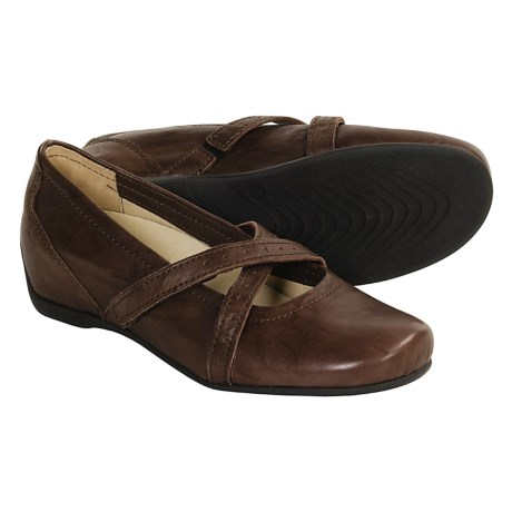 Wolky Cusani Mary Jane Shoes (For Women) in Brown