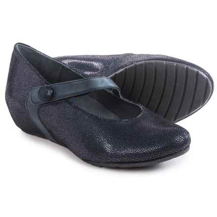Wolky Daphne Mary Jane Shoes - Leather (For Women) in Blue - Closeouts