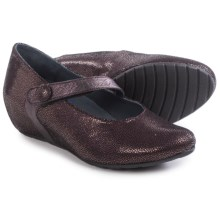 Wolky Daphne Mary Jane Shoes - Leather (For Women) in Rosa - Closeouts