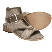 Wolky Dayton Sandals (For Women) in Taupe Canvas - Closeouts