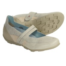 Wolky Disco Shoes - Mary Janes, Leather (For Women) in Off White - Closeouts