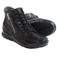 Wolky Fast Sneakers (For Women) in Black Crash - Closeouts