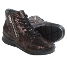 Wolky Fast Sneakers (For Women) in Brown Crash - Closeouts